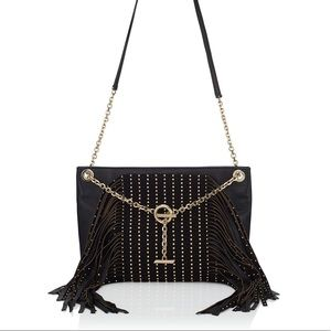 Jimmy Choo Alexia Fringe Shoulder Bag